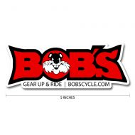 Bobs Cycle Supply Logo Decal 5in