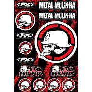 Factory Effex Metal Mulisha Decal Kit 2