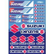 Factory Effex Suzuki Racing 2019 Decal Kit