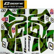 Gaerne SG12 Boot Wrap Decal Graphics Kit Army Camo