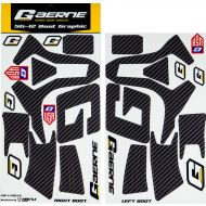 Gaerne SG12 Boot Wrap Decal Graphics Kit Carbon