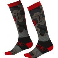 O'Neal 2022 Camo MX Socks Black/Red
