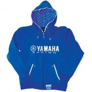 Factory Effex Yamaha Racing Zip Hoodie Sweatshirt Blue