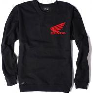 Factory Effex Honda Wing Crew Sweatshirt Black
