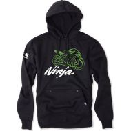 Factory Effex Kawasaki Ninja Pullover Hoodie Sweatshirt Black