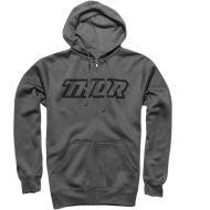 Thor Clutch Zip-Up Sweatshirt Gray