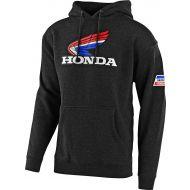 Troy Lee Designs Honda Retro Victory Wing Sweatshirt Charcoal Heather