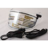Scorpion Ellip-Tec Electric Dual Pane Snow Shield Clear Fits R2000/R710/R410/T51
