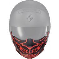 Scorpion Covert Helmet Face Mask Bandana Samurai Glow Red