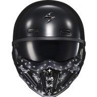 Scorpion Covert-X Helmet Face Mask Bandana Black