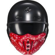 Scorpion Covert-X Helmet Face Mask Bandana Red