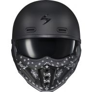 Scorpion Covert-X Helmet Face Mask Bandana Matte Black