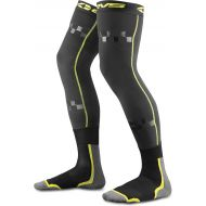 EVS Fusion Knee Brace Socks Pair Adult Black/Hi-Vis