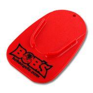 Bobs Cycle Logo Kickstand Pad Red
