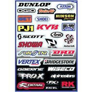 Factory Effex Sponsor Decal Kit A