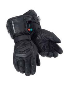 Tourmaster Synergy Heated Electric Leather Gloves Blk