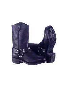 River Road Harness Boots Black