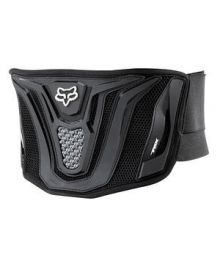 Fox Racing Blackbelt Adult Kidney Belt Black