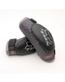 Fox Racing PW-1 Elbow Pads Black/Silver Youth Large Ages 6-9