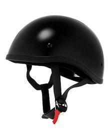 Skid Lid 1/2 Helmet Black