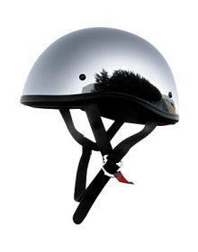 Skid Lid 1/2 Helmet Chrome