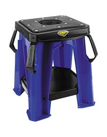 Cycra Moto Bike Stand With Tool Tray Blue