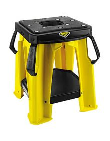 Cycra Moto Bike Stand With Tool Tray Yellow