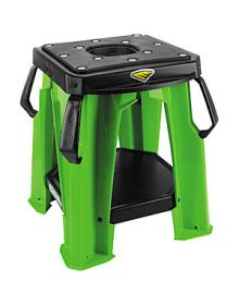 Cycra Moto Bike Stand With Tool Tray Green