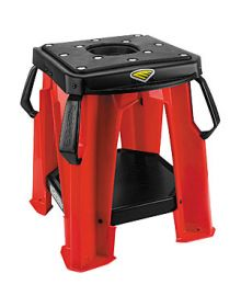 Cycra Moto Bike Stand With Tool Tray Red