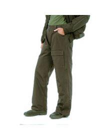 Mossi Waterproof Nylon Jean Pants Black 2XL