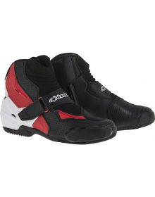 Alpinestars SMX-1R Vented Boots Black/White/Red