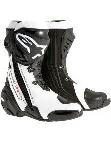 Alpinestars Supertech R Vented Boots Black/White