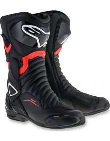 Alpinestars SMX-6 V2 Vented Boots Black/Red/Yellow