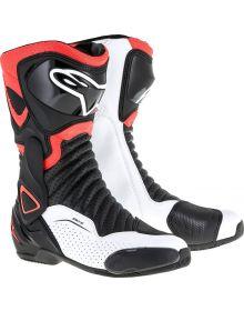 Alpinestars SMX-6 V2 Vented Boots Black/Red/White