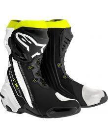 Alpinestars Supertech R Boots Black/Yellow Fluo/White