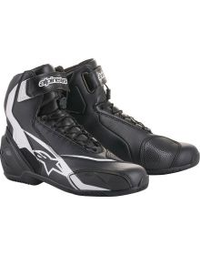 Alpinestars SP-1 V2 Riding Shoe/Boot Black/White