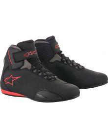 Alpinestars Sektor Riding Shoe/Boot Black/Gray/Red