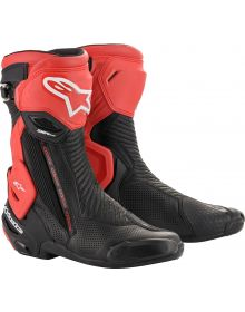 Alpinestars SMX-Plus V2 Vented Boots Black/Red