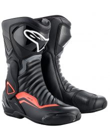 Alpinestars SMX-6 V2 Boots Black/Grey/Fluorescent Red