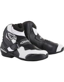 Alpinestars SMX-1 R Vented Boots Black/White/Black