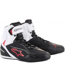 Alpinestars Faster-3 Riding Shoe Black/White/Red