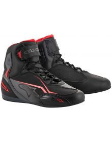 Alpinestars Faster-3 Riding Shoe Black/Grey/Red
