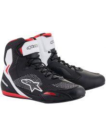 Alpinestars Faster-3 Rideknit Riding Shoe Black/White/Red