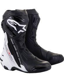 Alpinestars Supertech R v2 Vented Boots Black/White