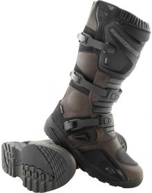 Firstgear Kathmandu Waterproof Boots Brown