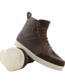 Firstgear Coastal Waterproof Shoes Brown
