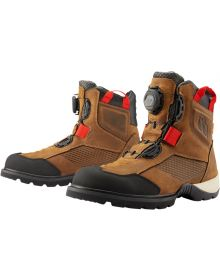 Icon Stormhawk Waterproof Boots Brown