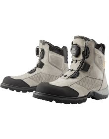 Icon Stormhawk Waterproof Boots Gray