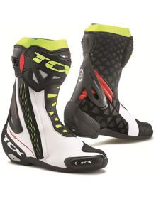 TCX RT-Race Boots White/Red/Yellow