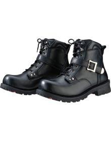 Z1R Trekker Waterproof Leather Boots Black